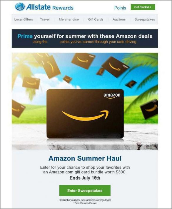 Allstate Amazon Prime