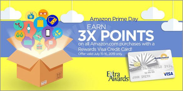 Amazon Prime 3x Points