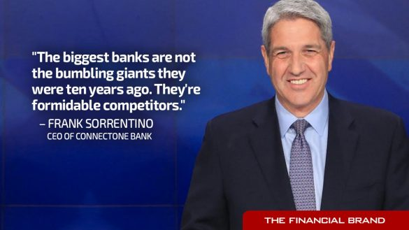Frank Sorrentino banks not bumbling giants quote