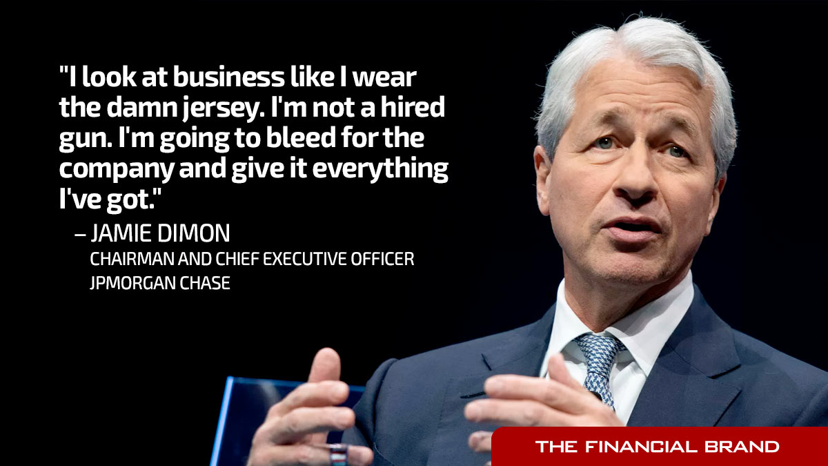 Why Jamie Dimon Loves Branches, Admires Bezos & Questions