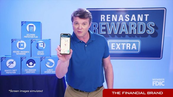 Resasant Bank checking ad