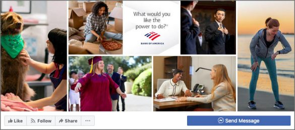 BofA Facebook page