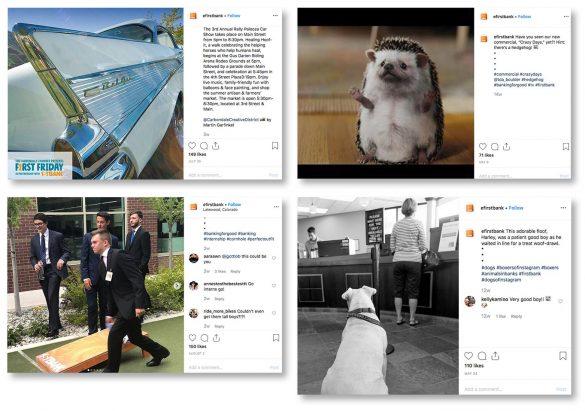 EF First Bank Instagram