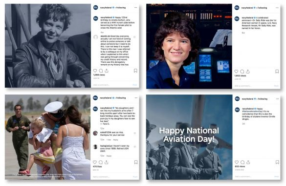 Navy Federal Credit Union Instagram
