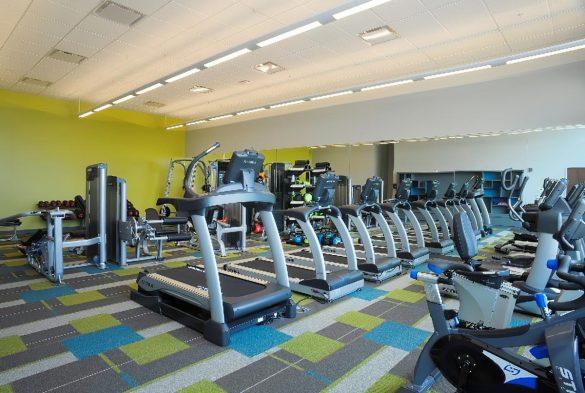 TTCU gym green building