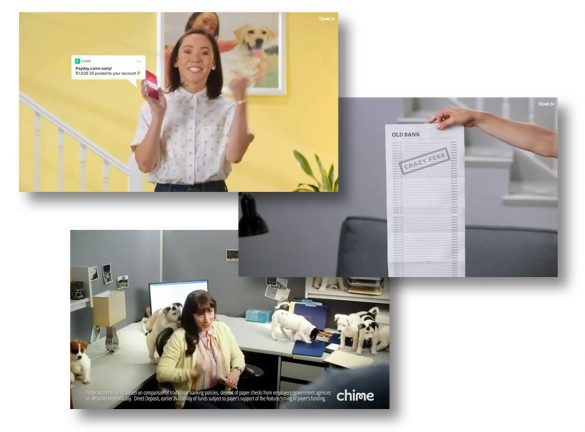 Chime digital advertising