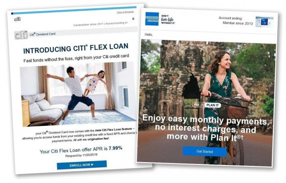 Financial institutions holiday promotions