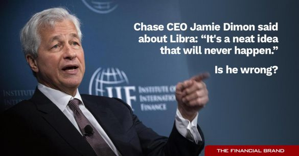 Jamie Dimon Facebook Libra quote