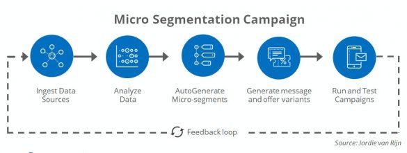 Micro-segmentation flow
