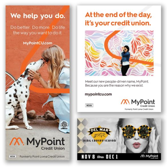 Mypoint Credit Union marketing materials