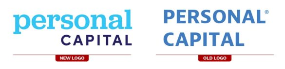 Personal Capital new old logo rebrand