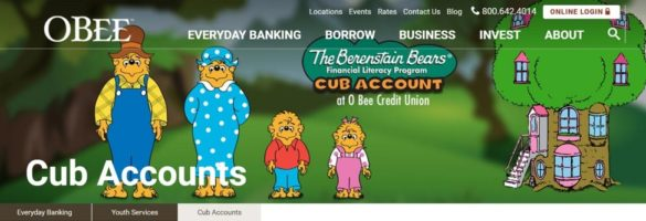 OBEE Credit Union youth banking