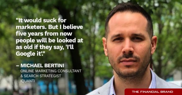 Mike Bertini suck for marketers quote