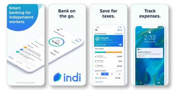 PNC Indi banking for independent workers app