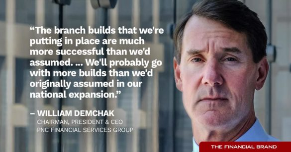 William Demchak national expansion quote