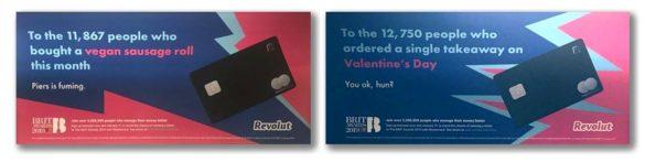 Revolute personalization ads