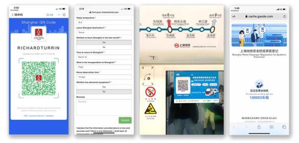 Shanghai COVID-19 app trains money transfer