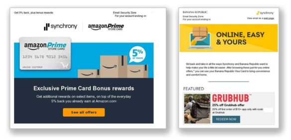 Synchrony credit card offers