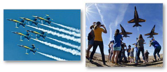 Air show COVID Blue Angels