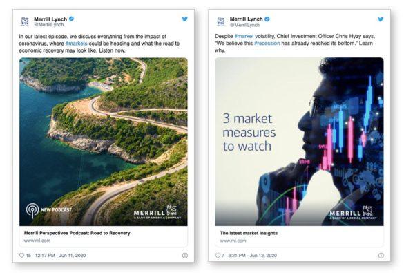 Merrill Lynch Hootsuite Twitter social media