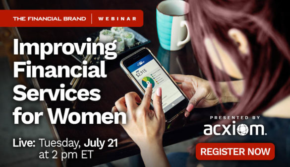 Webinar improving financial services for women Acxiom