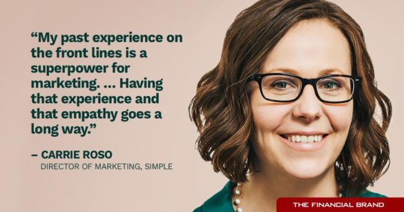 Carrie Roso experience and empathy go a long way quote
