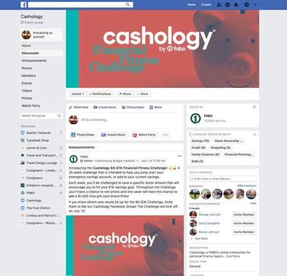 Cashology Facebook Group