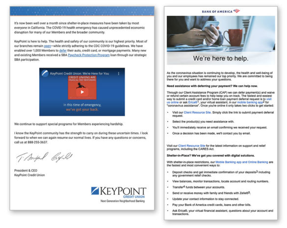 Email marketing Keypoint Bank of America