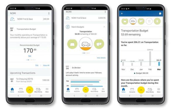 RBC budgets mobile screens