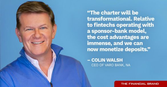 Colin Walsh bakning charter will be transformational quote