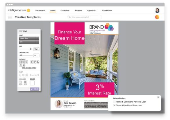 product shot dynamic creative template home loan