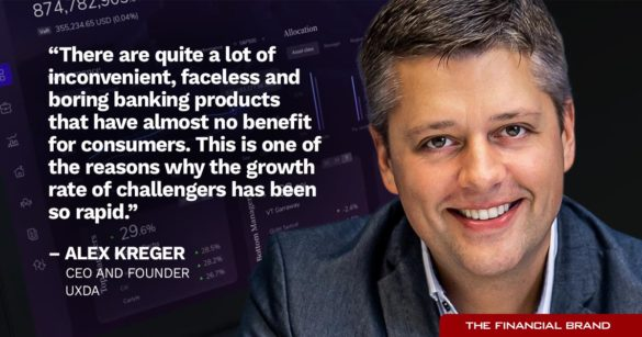 Alex Keger boring bank products reason for challenger growth