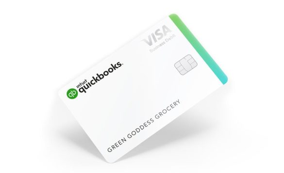 Intuit QuickBooks debit card