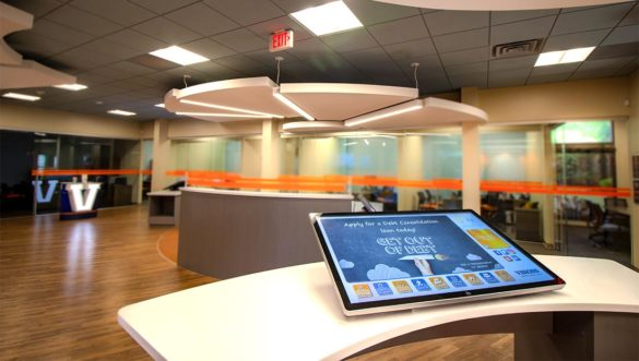 PWCampbell interactive kiosks and iPad integration