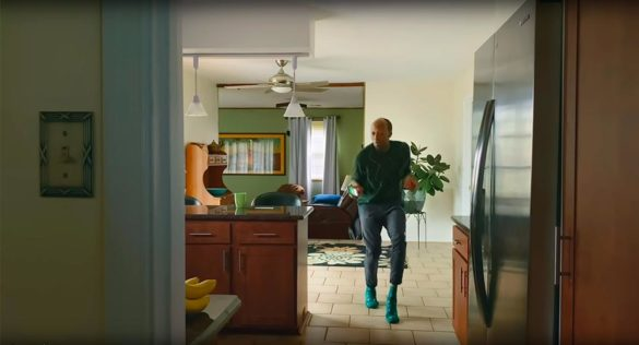 TD Bank TV commercial dancing in kitchen