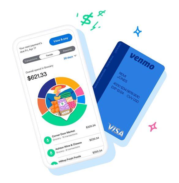 Vinmo PayPal finances credit card marketing