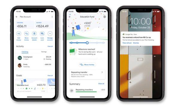 Google Pay Plex features