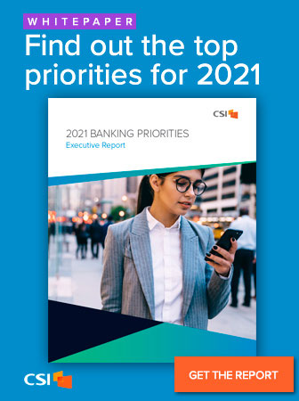 CSI | 2021 Banking Priorities