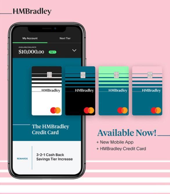 HM Bradley credit card offer