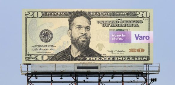 Varo billboard a bank for all of us