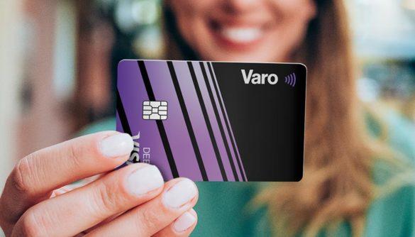 Varo Visa debit card