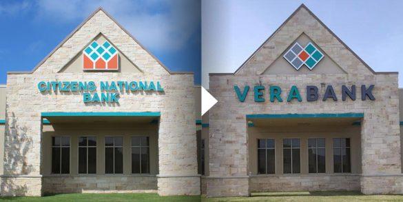 Adrenaline branch rebrand VeraBank exterior