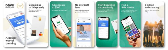 Dave app Better way of banking