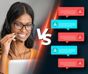 Article Image: Chatbots, Live Chat, Video, Virtual Assistants: Which One Wins?