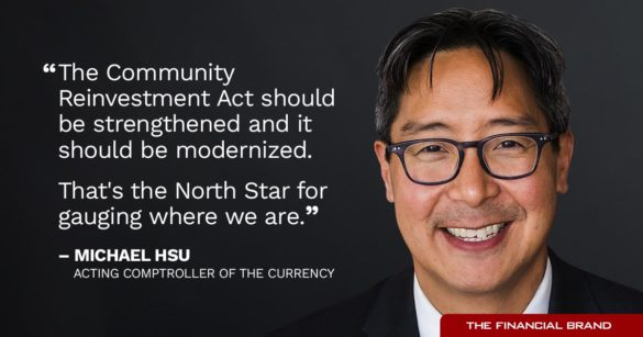 Michael Hsu community reinvestment act should be strengthened quote