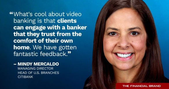 Mindy Mercaldo quote video banking clients engage a banker they trust