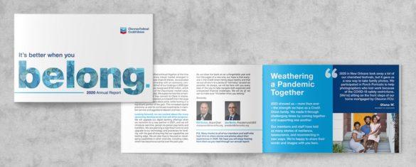 Chevron Credit Union annual report