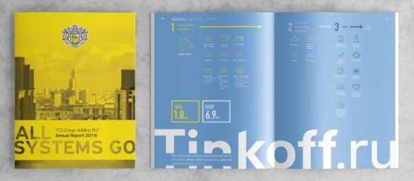 Tinkoff Bank annual report