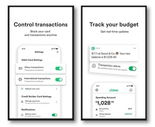 Chime store notification app consumers want