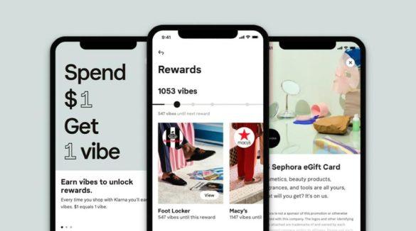 Vibe app screen earn rewards